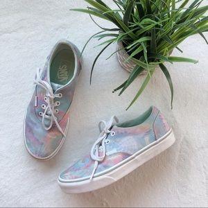 Vans Pastel Tie Dye Classic Lace Up Shoes